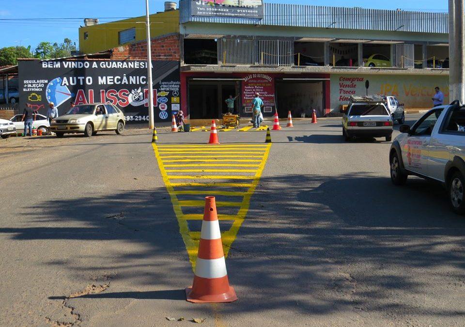 """Atenção ao """"trevo"""" de Guaranésia"""