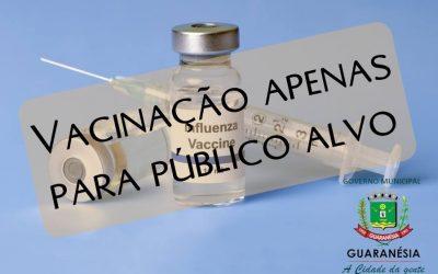 Vacinação contra a gripe se mantém até dia 09, mas somente para público alvo