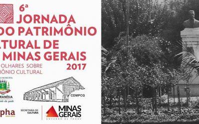 Na próxima sexta-feira (25), acontece a 6ª Jornada do Patrimônio Cultural de Minas Gerais em Guaranésia
