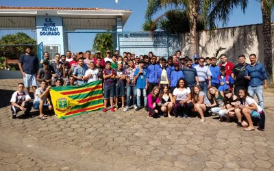 Atletas de Guaranésia participam da Etapa Regional dos Jogos Escolares de Minas Gerais na cidade de Formiga