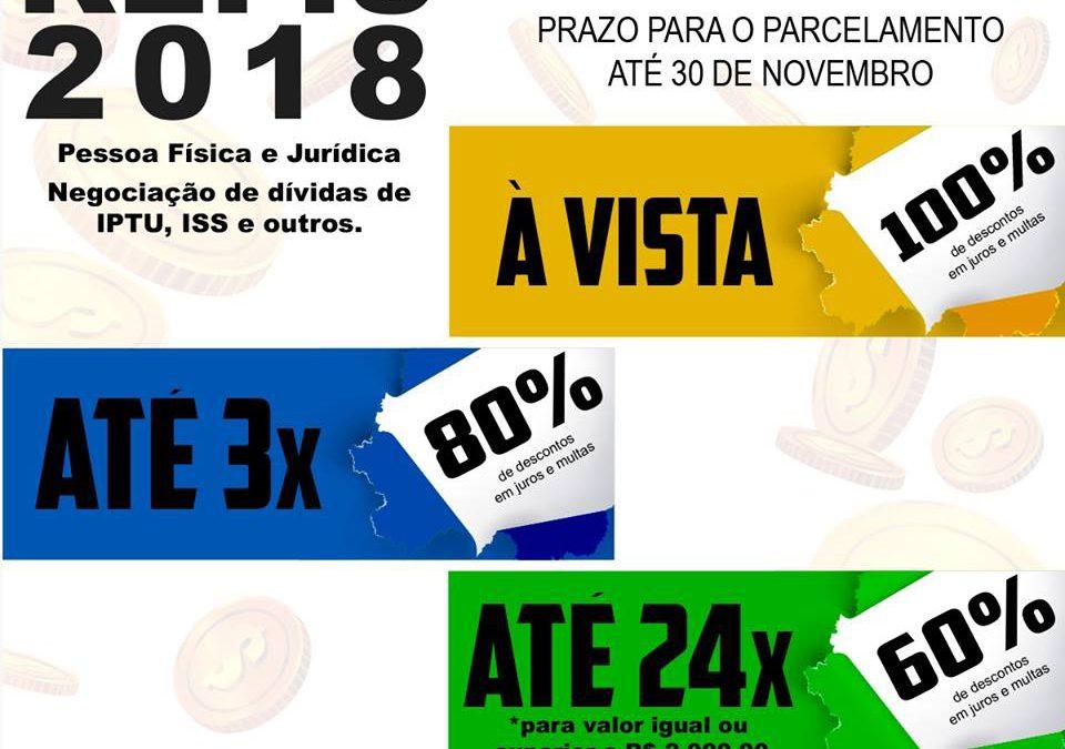 GUARANÉSIA INICIA PROGRAMA DE RECUPERAÇÃO FISCAL – REFIS