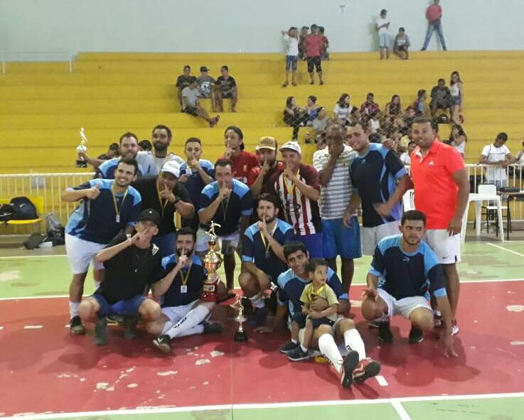 FINAL DO CAMPEONATO MUNICIPAL DE FUTSAL ADULTO