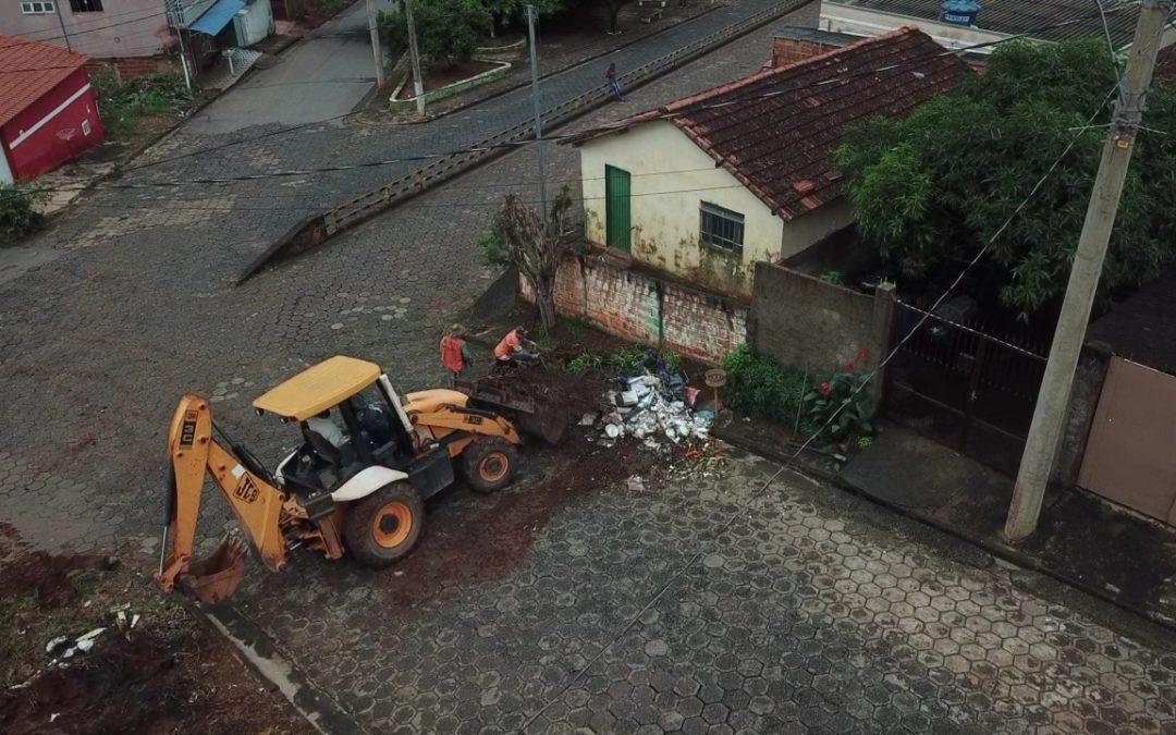 PREFEITURA INICIA MUTIRÃO DE LIMPEZA