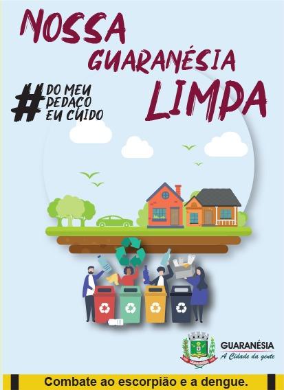 "PREFEITURA LANÇA CARTILHA ""NOSSA GUARANÉSIA LIMPA"""