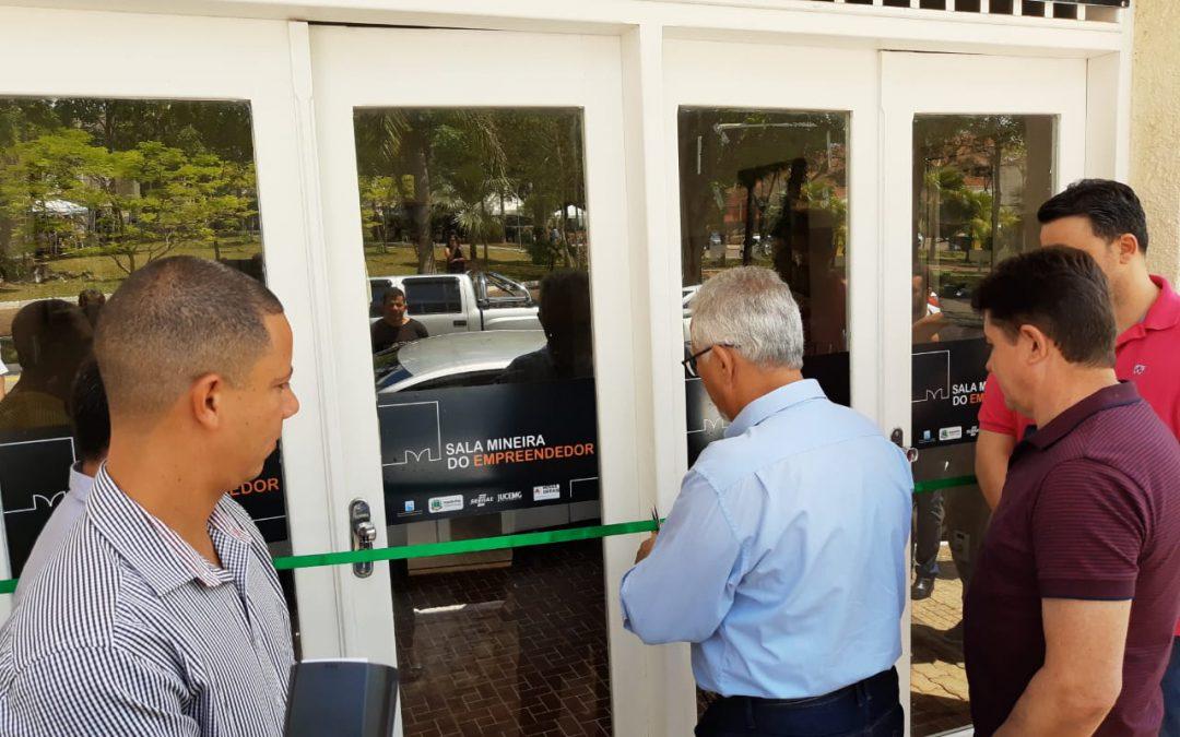Sala Mineira do Empreendedor é Inaugurada em Guaranésia